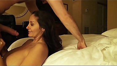 Busty Pornstar Ava Addams has James Deen Cumming on her Tits in a Private Sex-Tape