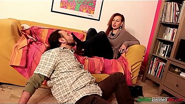 Amanda VS Ale Only Smell and Foot Domination