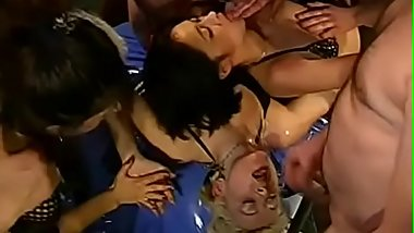 Horny lesbian babes are delighting each other with pussy lickings