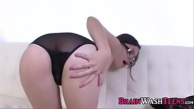 Busty Asian Teen Trying Bondage Play