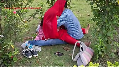 Indian teens live Sex in park