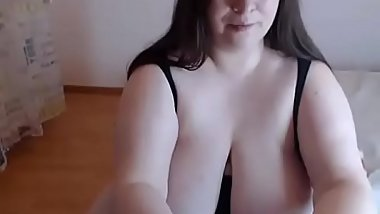 Hot Fat Girl Masturbating On Web Cam