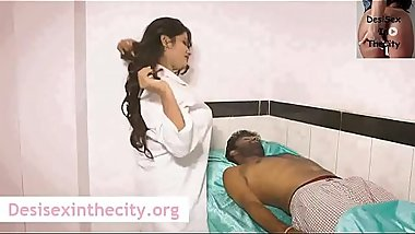 Hot Doctor Bhabhi Sex  With Patient