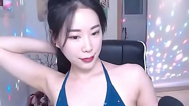 Sexy Asian teasing in bikini - check link for more