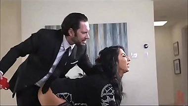 Guy punishing his wife very hard!!! -Punishland.com