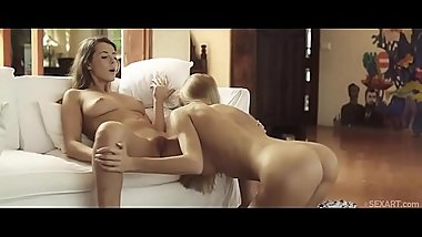 SEXART - Nancy A and Sybil A all over each other