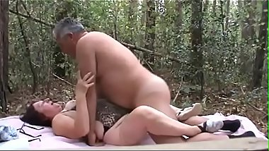 straight daddy bear fucks his wifey in the woods - http://bit.ly/KU4vYxa