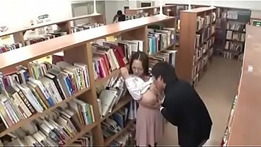 Hitomi in The Library