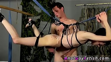 Gay guys videos kyler moss bondage Jerked And Drained Of Semen