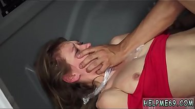 Latex rubber bondage fetish Poor Callie Calypso.