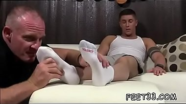 Teen men gay sex toy movieture Daddy Dev Worships Sebastian'_s Feet
