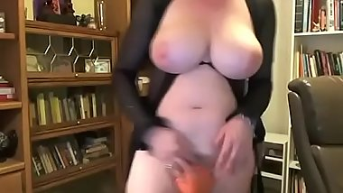 Busty trans live show her big cock on cam sex