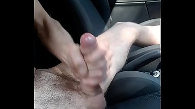 Smerfus masturbation in car