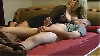 Handjob From Stepmom