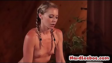 Sensual massage with Lena Nicole &amp_ JoJo Kiss