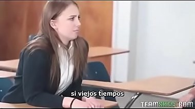 Schoolgirl sucks The Dong Bong sub españ_ol