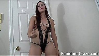 Are your ready to stroke your cock for your mistress JOI
