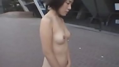 Sexy Japanese Girl Public