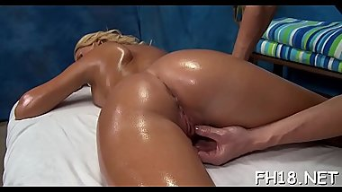 Cute 18 year old gal gets fucked hard by her massage therapist