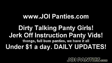 My panties will drive you crazy JOI