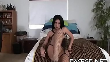 Sexy girl gets her ass licked and fingered while sucking