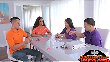 Demi Sutra, Julz Gotti Swaping Strip Poker Cock
