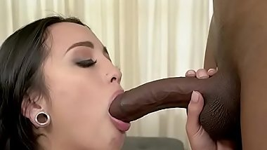 Chick Mi Ha Devours Monster Cock Of Her BF