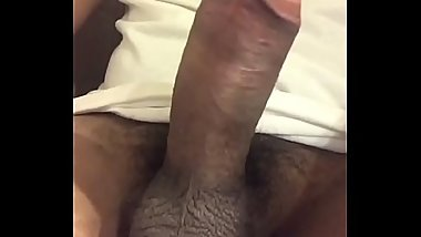 jerking my hard cock