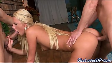 Smalltits glam beauty gets anally drilled