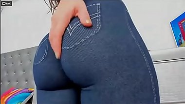 amazing karinass tight jegglings big ass livejasmin