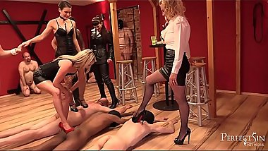 Mistresses&#039_ Party - Goddesses Need  To Relax After Hard Day