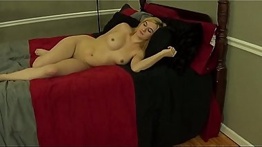 Handjob Fifi Foxx Against a Wall