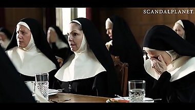 Marshall Chapman Nude Nun Scene from '_Novitiate'_ On ScandalPlanetCom