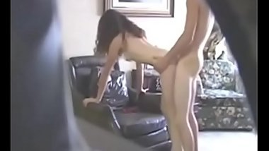 College girl caught on hidden cam having a good fuck
