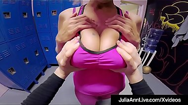 Hot Mommy Julia Ann Gets Mature Pussy Fucked &amp_ Cummed On!